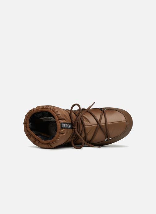 Sportschuhe Moon Boot Low Nylon braun ansicht von links