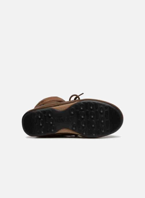 Sportschuhe Moon Boot Low Nylon braun ansicht von oben