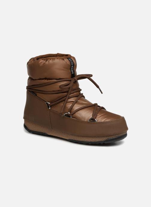 Chaussures de sport Moon Boot Low Nylon Marron vue détail/paire