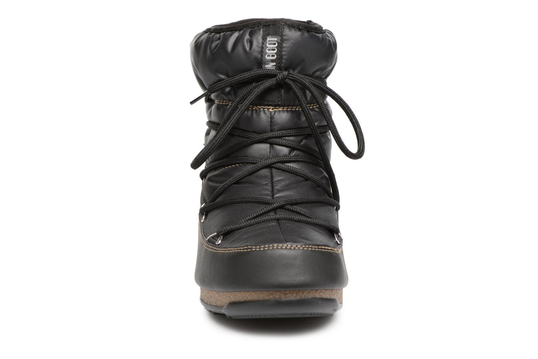 Chaussures de sport Moon Boot Low Nylon Noir vue portées chaussures