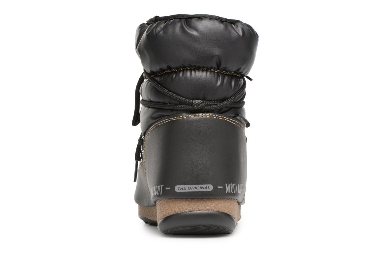 Chaussures de sport Moon Boot Low Nylon Noir vue droite