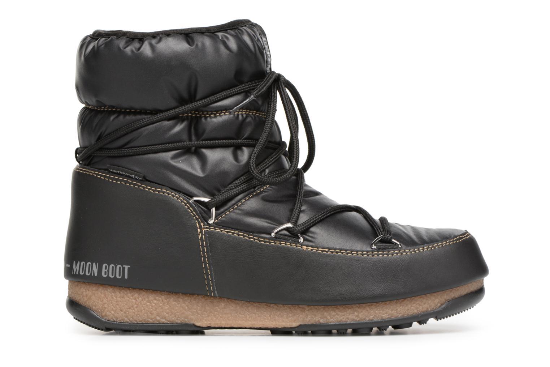 Chaussures de sport Moon Boot Low Nylon Noir vue derrière