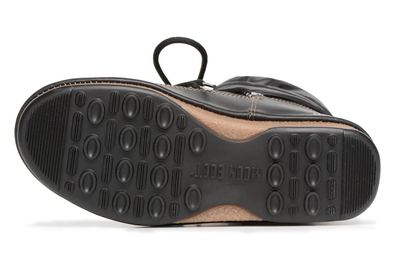 Chaussures de sport Moon Boot Low Nylon Noir vue haut