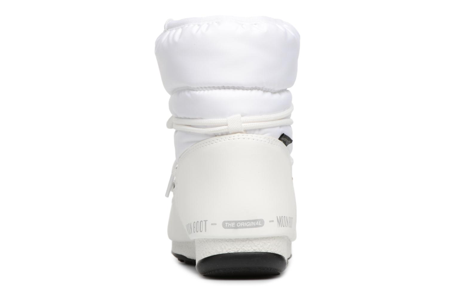 Sport shoes Moon Boot Low Nylon White view from the right