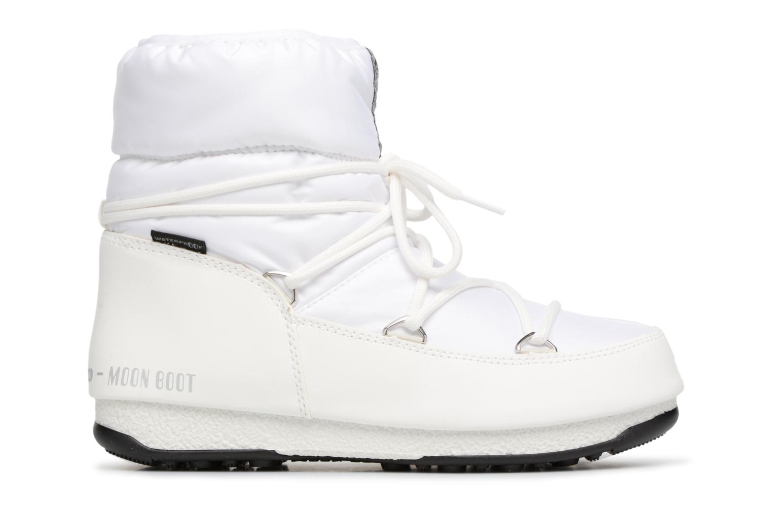 Sport shoes Moon Boot Low Nylon White back view