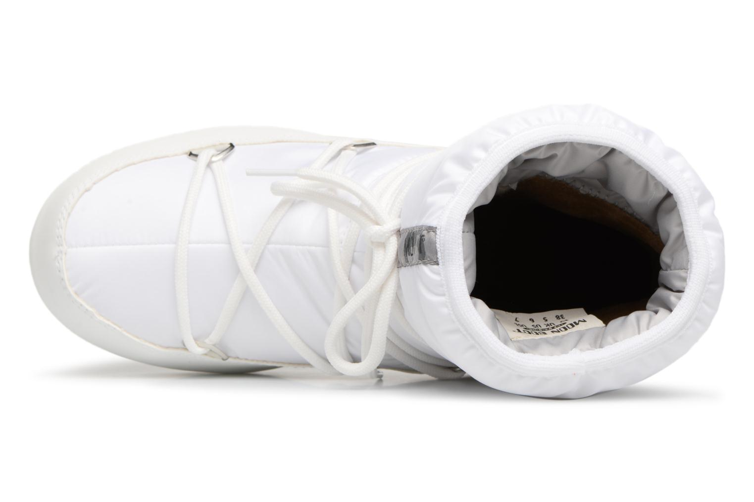 Sport shoes Moon Boot Low Nylon White view from the left