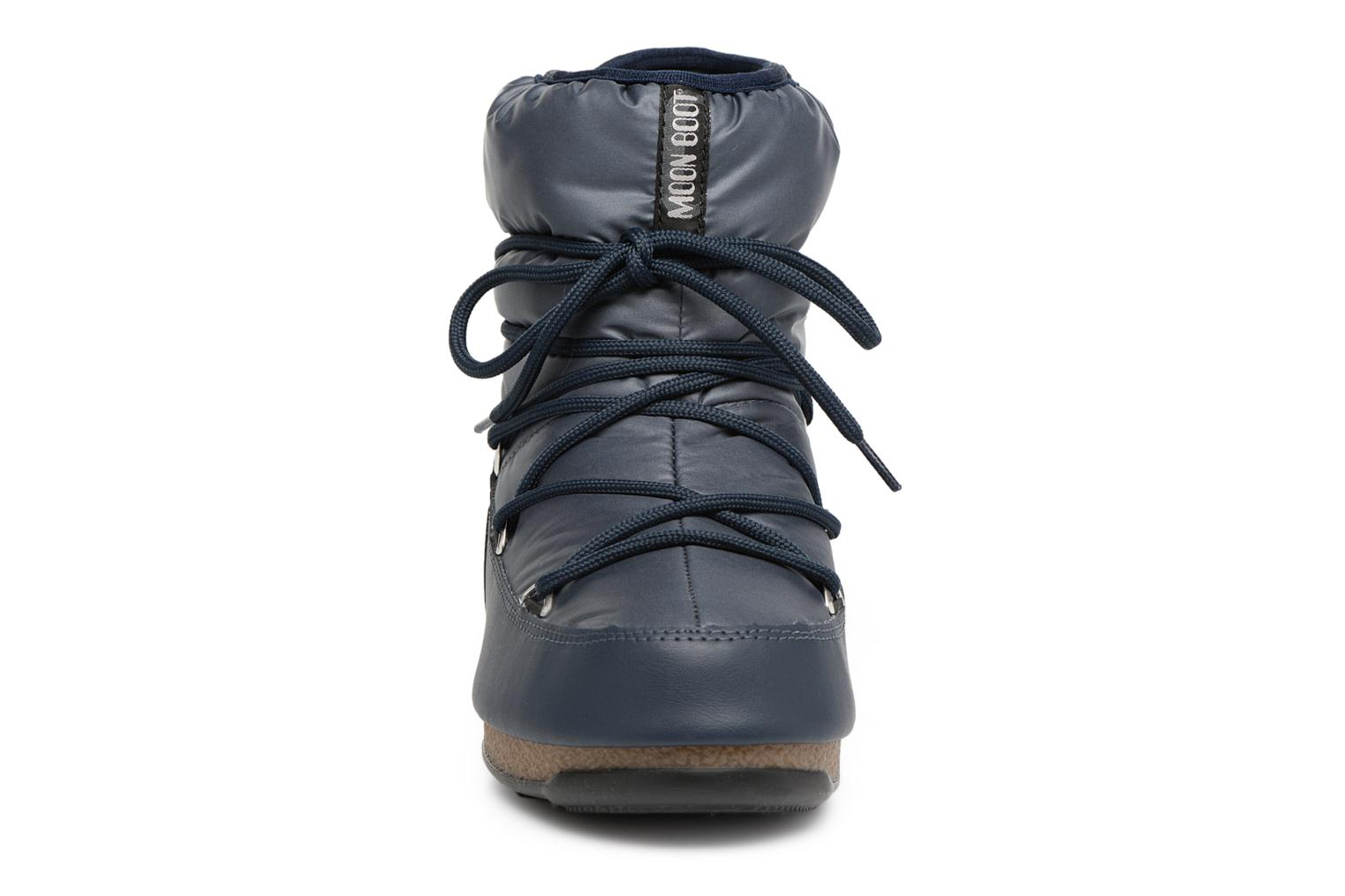 Sport shoes Moon Boot Low Nylon Blue model view