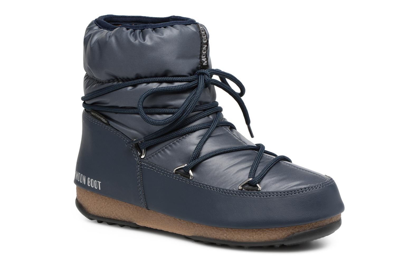 Moon Boot Low Nylon (Bleu) - Chaussures de sport en Más cómodo Réduction de prix saisonnier, remise