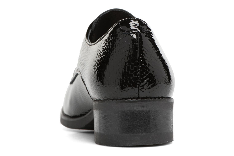 Chaussures à lacets Georgia Rose Galion Noir vue droite