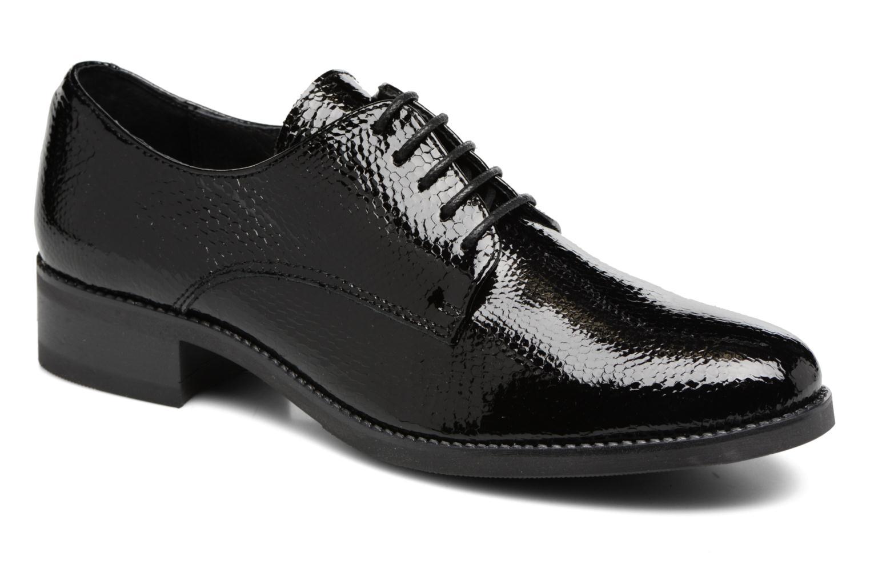 Chaussures à lacets Georgia Rose Galion Noir vue détail/paire