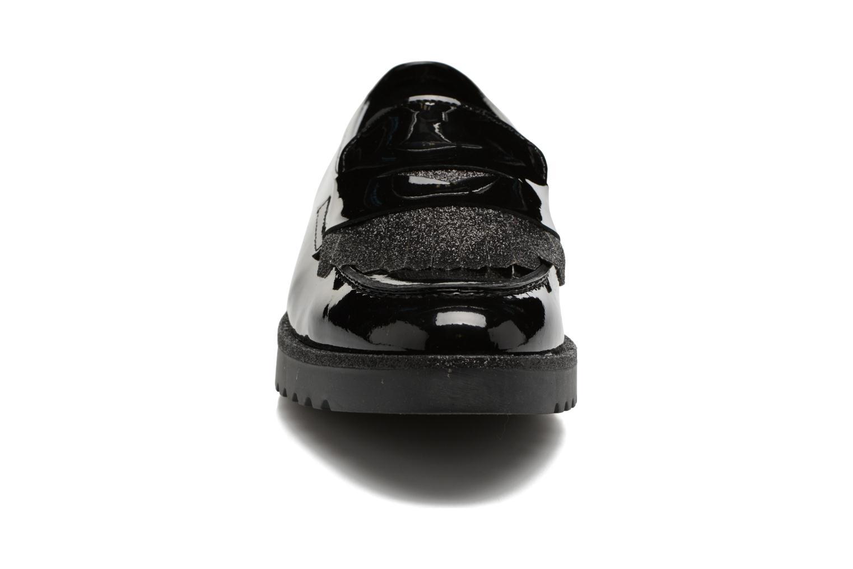 Mocassins Georgia Rose Gerald Noir vue portées chaussures
