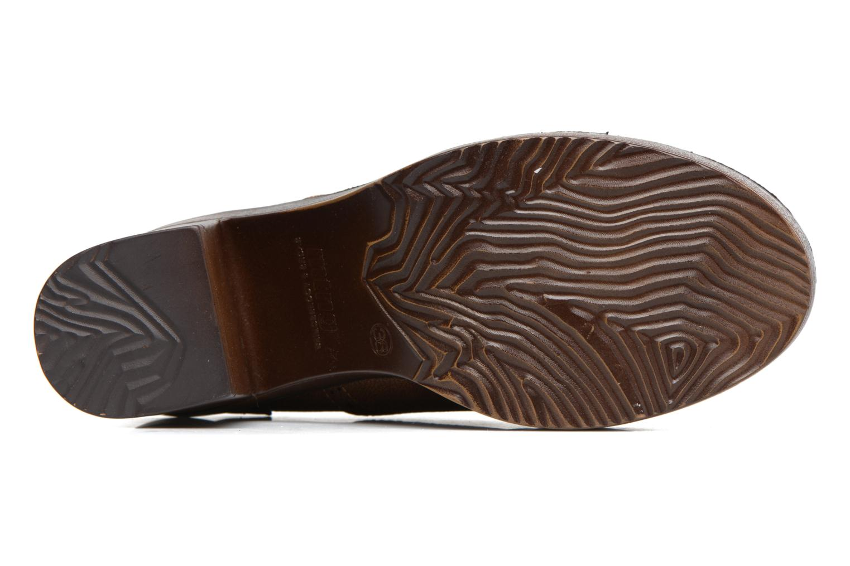 Zapatos con cordones MTNG Priva Marrón vista de arriba