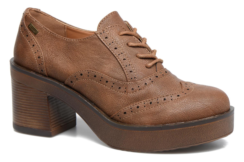 Zapatos con cordones MTNG Priva Marrón vista de detalle / par