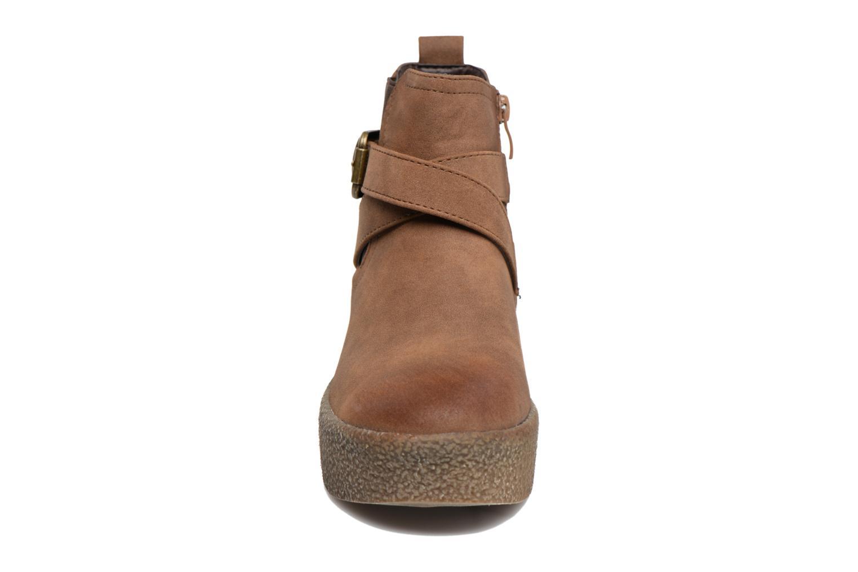 Bottines et boots MTNG Consia Marron vue portées chaussures