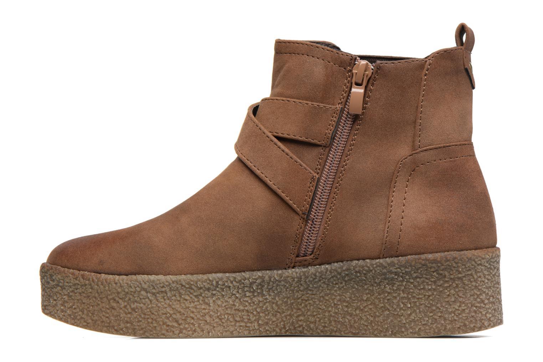 Bottines et boots MTNG Consia Marron vue face