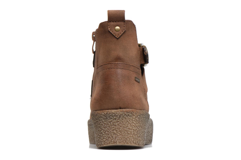 Bottines et boots MTNG Consia Marron vue droite