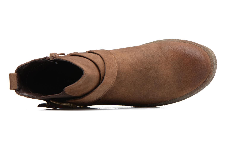 Bottines et boots MTNG Consia Marron vue gauche
