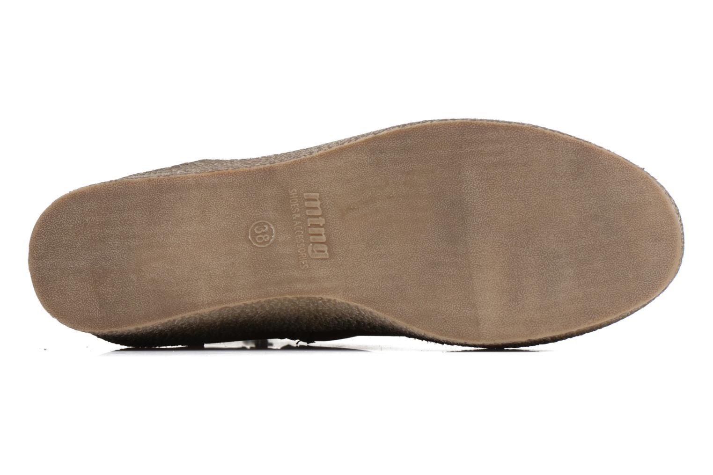 Bottines et boots MTNG Consia Marron vue haut