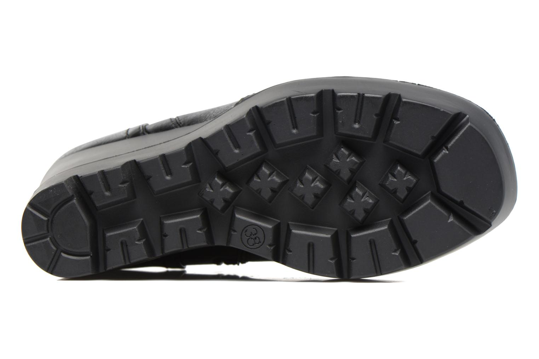 Bottines et boots MTNG Sego Noir vue haut