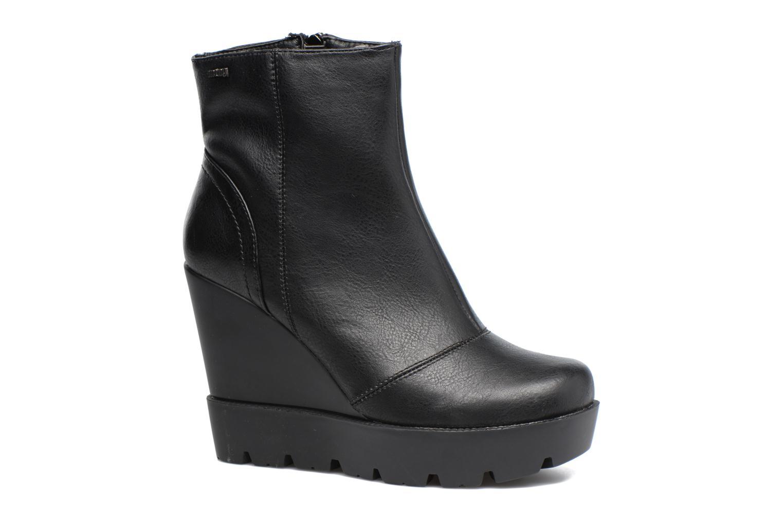 Bottines et boots MTNG Sego Noir vue détail/paire