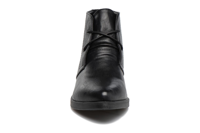 Chaussures à lacets MTNG Fantasia Noir vue portées chaussures