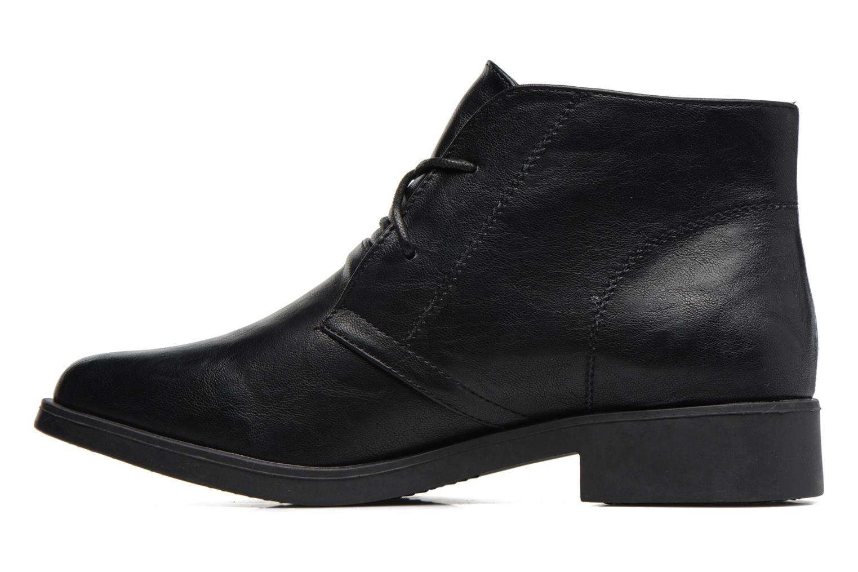 Chaussures à lacets MTNG Fantasia Noir vue face