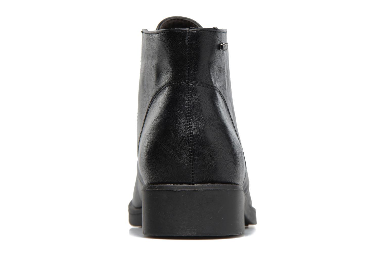 Chaussures à lacets MTNG Fantasia Noir vue droite