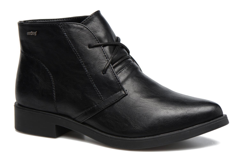 Chaussures à lacets MTNG Fantasia Noir vue détail/paire