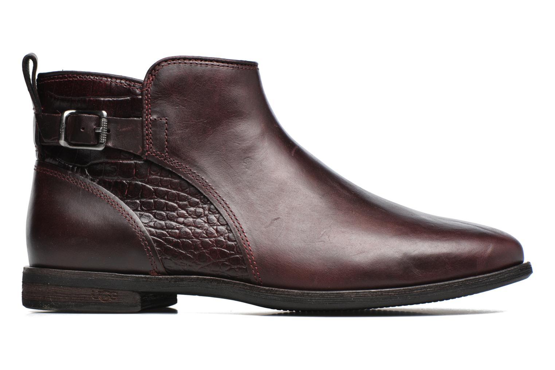 Bottines et boots UGG Demi Croc Bordeaux vue derrière