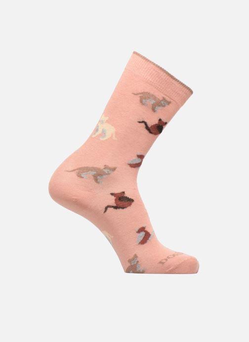 Socken & Strumpfhosen Doré Doré Chaussettes Chats rosa detaillierte ansicht/modell
