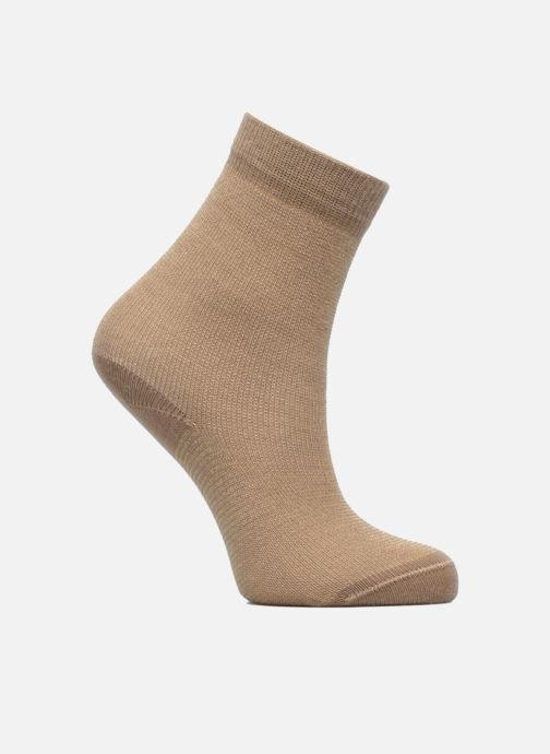 Socks & tights Doré Doré Chaussettes Lurex Micro Rayures Bronze and Gold detailed view/ Pair view