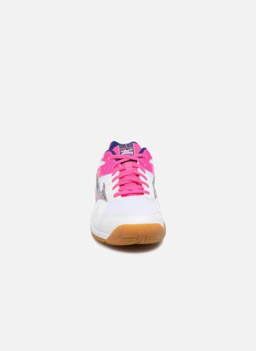 Chaussures de sport Mizuno CYCLONE SPEED Bleu vue portées chaussures