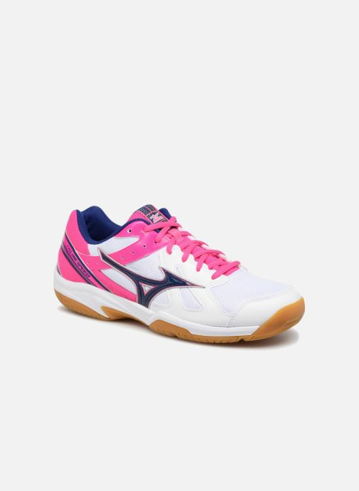 Chaussures de sport Mizuno CYCLONE SPEED Bleu vue détail/paire