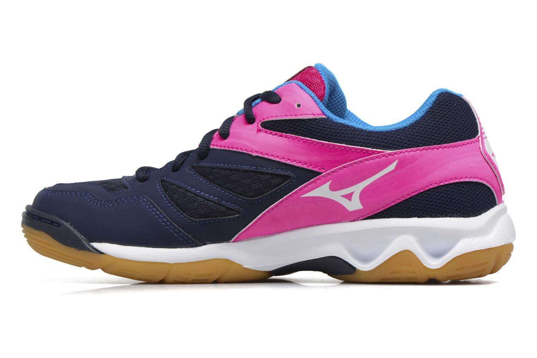 Chaussures de sport Mizuno THUNDER BLADE Bleu vue face