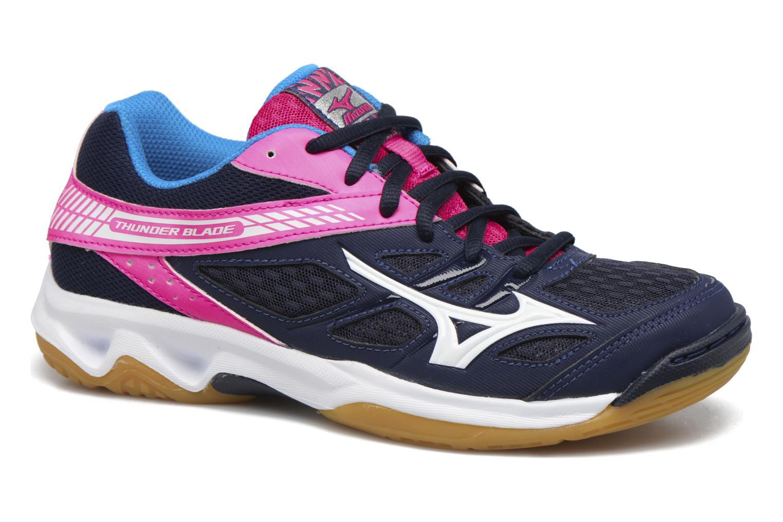 Chaussures de sport Mizuno THUNDER BLADE Bleu vue détail/paire