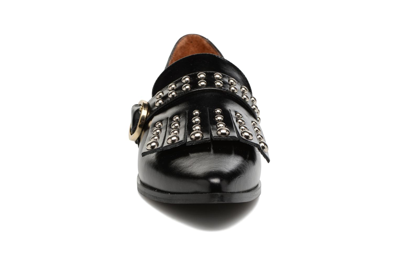 Mocassins Jonak Aristo Noir vue portées chaussures