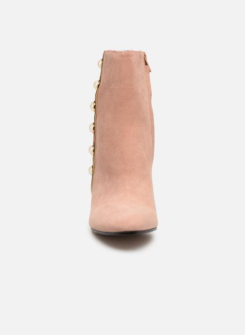 Bottines et boots Jonak Cherry Rose vue portées chaussures