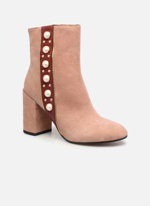 Bottines et boots Jonak Cherry Rose vue détail/paire