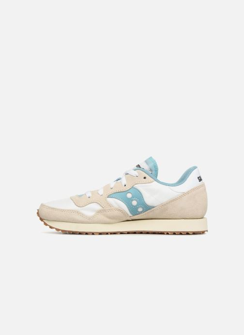 Sneakers Saucony Dxn Trainer Vintage W Beige immagine frontale