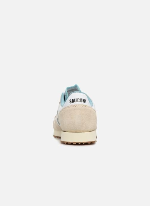 Sneakers Saucony Dxn Trainer Vintage W Beige immagine destra
