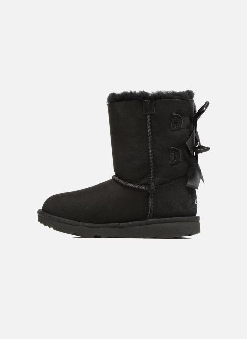 Stiefel UGG Bailey Bow II K schwarz ansicht von vorne