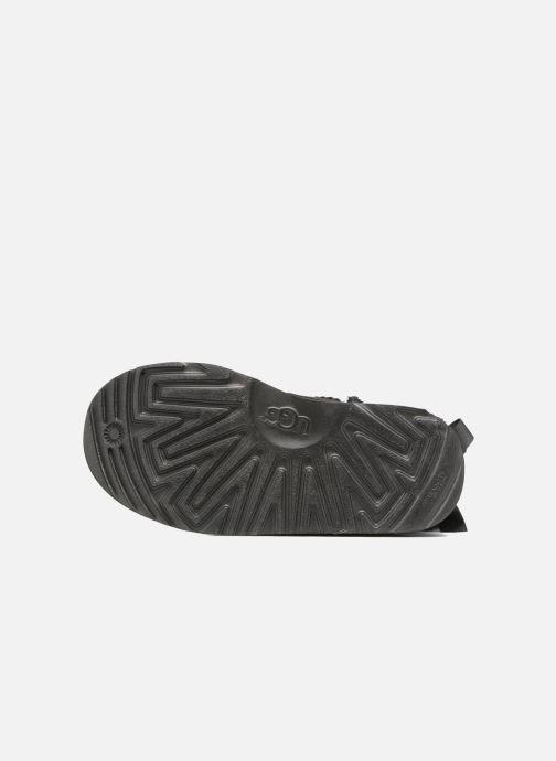 Stiefel UGG Bailey Bow II K schwarz ansicht von oben