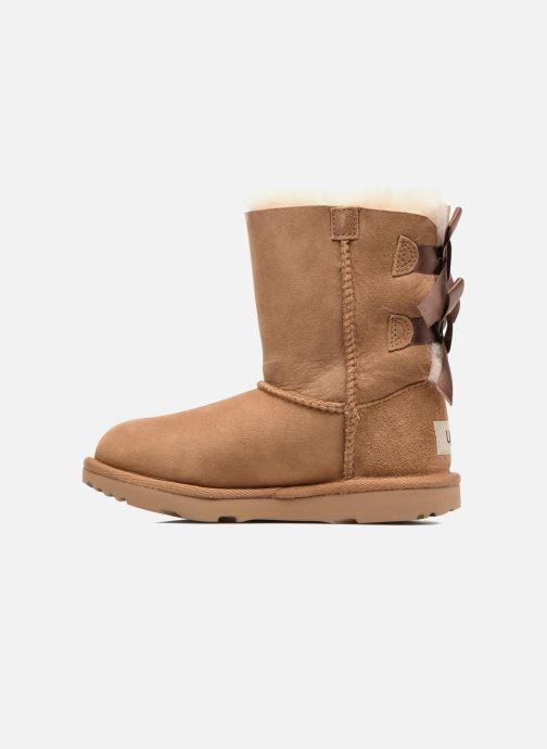 Støvler & gummistøvler UGG Bailey Bow II K Brun se forfra