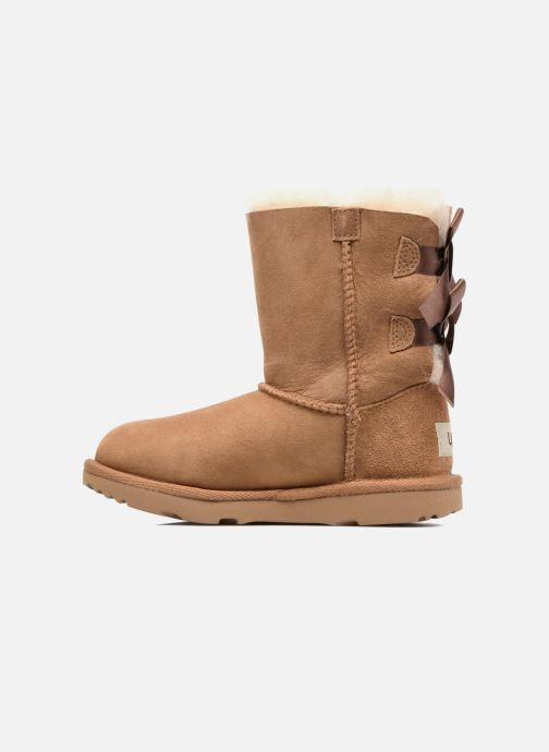 Bottes UGG Bailey Bow II K Marron vue face