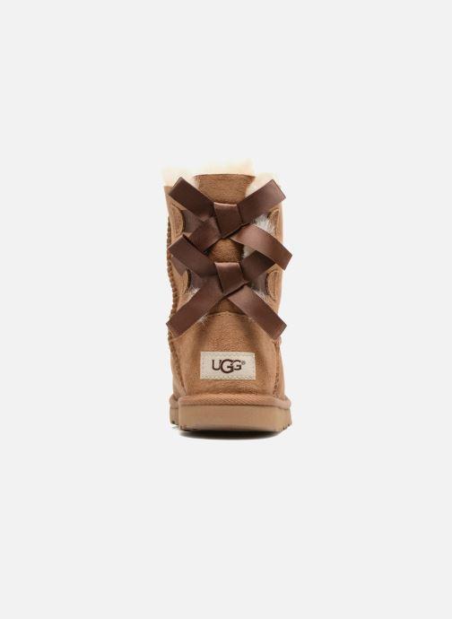 Stiefel UGG Bailey Bow II K braun ansicht von rechts