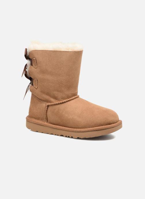 Støvler & gummistøvler UGG Bailey Bow II K Brun detaljeret billede af skoene