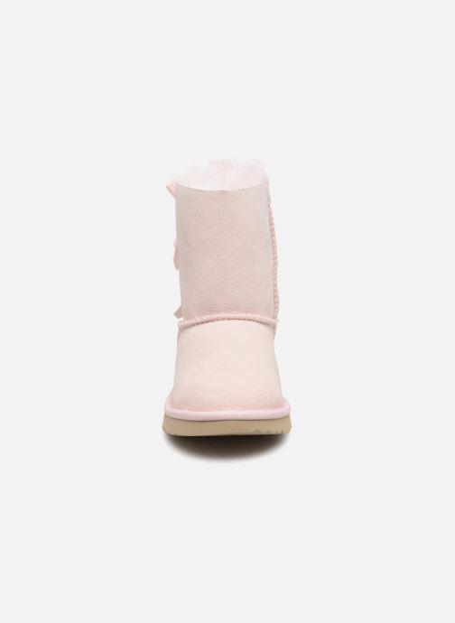 Støvler & gummistøvler UGG Bailey Bow II K Pink se skoene på