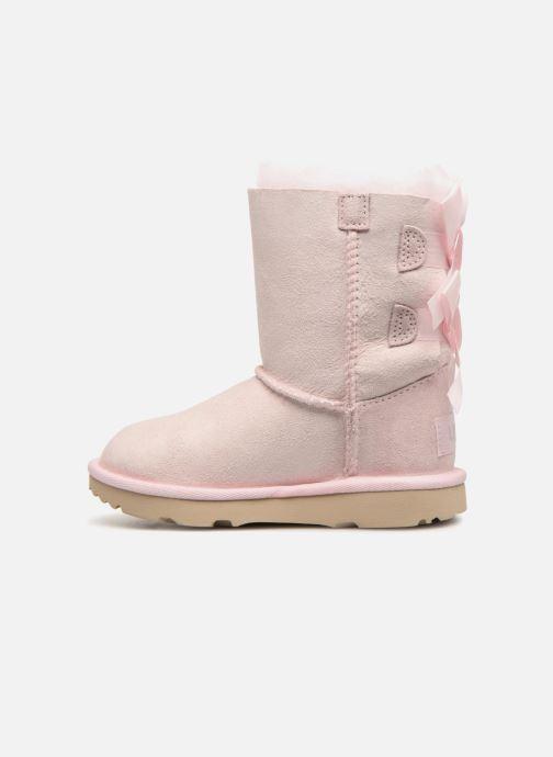 Støvler & gummistøvler UGG Bailey Bow II K Pink se forfra