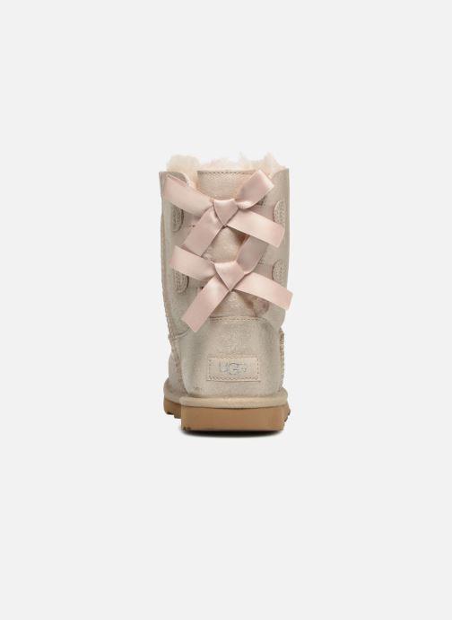Stiefel UGG Bailey Bow II K gold/bronze ansicht von rechts