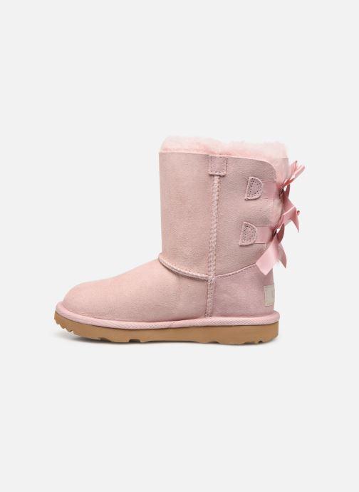 Stiefel UGG Bailey Bow II K rosa ansicht von vorne